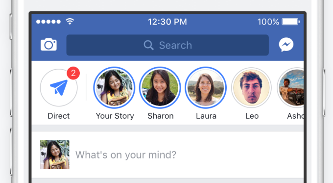 Stories Viewing Facebook