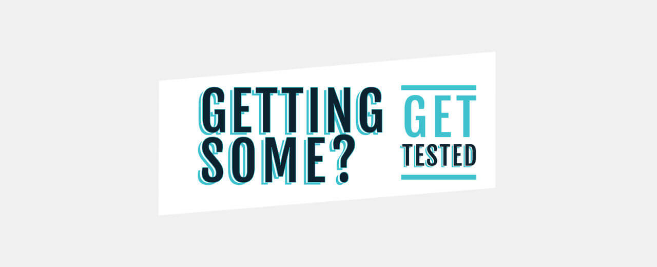 Getting Some Get Tested logo